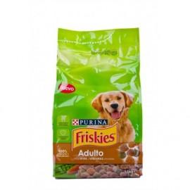 Friskies Bird and vegetable food for adult dogs 1.5kg bag