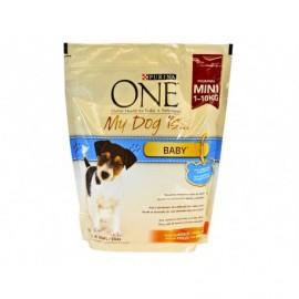 Purina One Alimento de Pollo y Arroz Perros Baby 1-10 kg Saco 800g