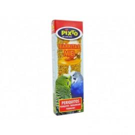 Pixto Parakeet food Honey bars Pack 2 units - 60g