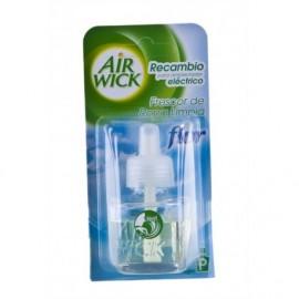 Air Wick Recambio Electrico Frescor Ropa Limpia Flor Frasco 19ml