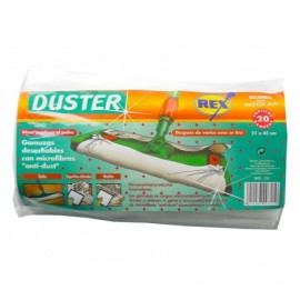 Rex Bayeta Duster Desechable Multisuperficie Pack 20 unidades