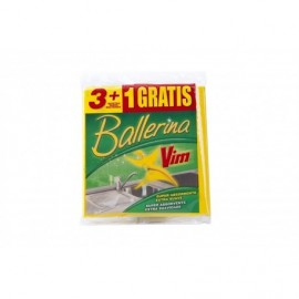 Ballerina Bayeta Pack 3ud (+1 Gratis)