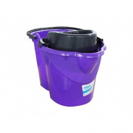 Maya Cubo con Escurridor Violeta 15 litros