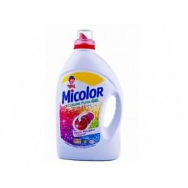 Micolor Detergente Gel Colores Puros Botella 10 Lavados - 2l