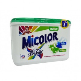 Micolor Detergente Liquido Quitamanchas 24 Cápsulas - 528g