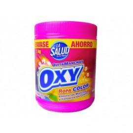 La Salud Quitamanchas Oxi Polvo Ropa Color Bote 1kg