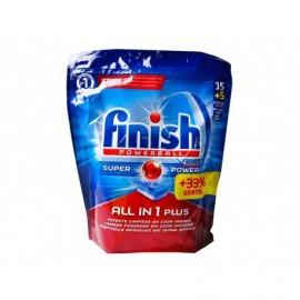 Finish Lavavajillas Finish Todo en 1 Caja 15+5 Pastillas