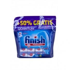 Finish Detergente Quantum Ultimate Bolsa 18 Pastillas (+7 Gratis)