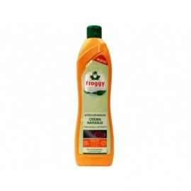 Frosch Limpiador Vitroceramica Crema Naranja Botella 500ml
