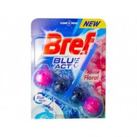 Bref Colgador WC Bolas Blue Activ Floral Blister 1 unidad