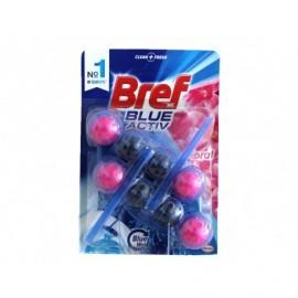 Bref Colgador WC Bolas Duplo Blue Activ Floral Blister 2ud