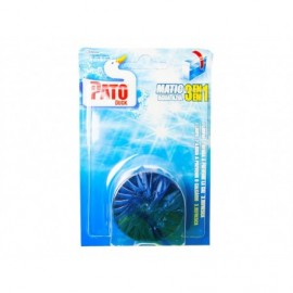 Pato WC Disco Azul Cisterna WC Blister 1 unidad
