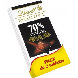Chocolate Lindt Excellence Cacao 70% 100gr
