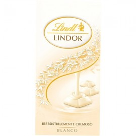 Chocolate Lindt Lindor White 100 Grs