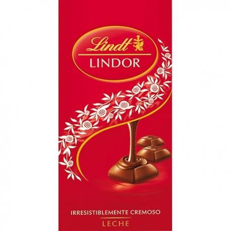 Chocolate Lindt Lindor Milk 100 Grs
