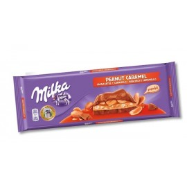 Chocolate Milka Caramel And peanuts 276 Gr