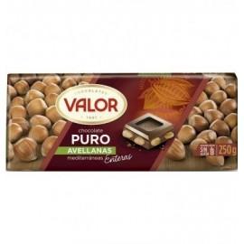 Chocolate Valor Puro Milk Hazelnuts 250 Gr