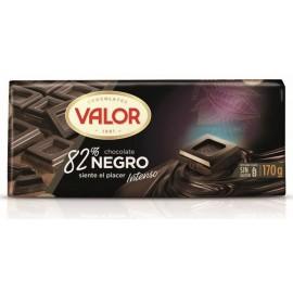 Chocolate Valor Sugra free Black 85% 100 Grs