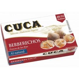 Cockles Berberechos La Coca Rias mediums 180 Gr