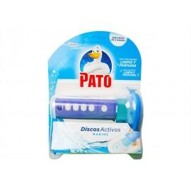 Pato WC Discos Activos Marine WC Dispensador+6ud