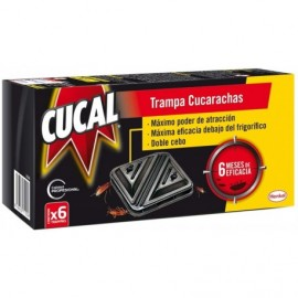 Cucal Cockroach trap 6 months of effectiveness Box 6 units