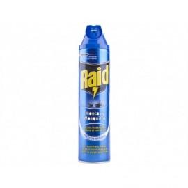 Raid Insecticida Instantáneo para Moscas y Mosquitos Spray 600ml