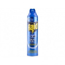 Raid Instant insecticide for flies and mosquitoes Spray 600ml
