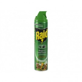 Raid Home and Interior Natural Freshness Insecticide Spray 600ml