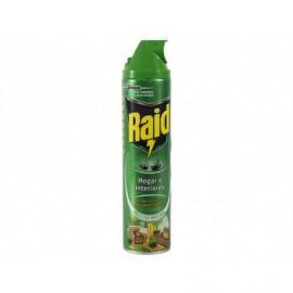 Raid Insecticida Hogar e Interiores Frescor Natural Spray 600ml