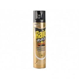 Raid Max Insecticida Cucarachas y Hormigas 3 en 1 Spray 300ml