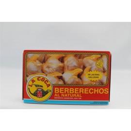 Cockles Berberechos La Coca Rias small 180 Gr