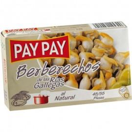 Cockles Berberechos Pay-pay Rias g 45-55 180 Gr