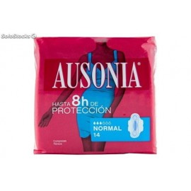 Ausonia Ultra wings 14 Units Female pads