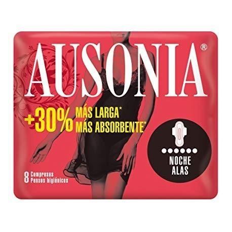 Ausonia Ultra wings Night Female pads 9 Units