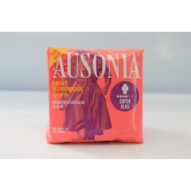 Compresas femeninas Ausonia Ultra Alas Super 12 Unidades