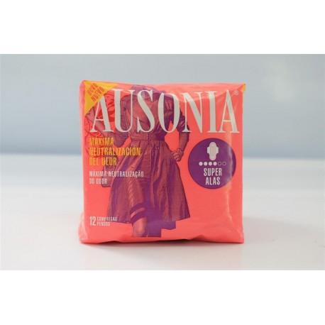 Ausonia Ultra wings Super Female pads 12 Units