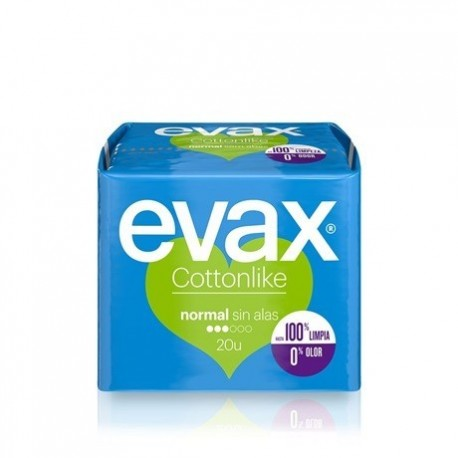 Evax Female pads Cottonlike 20 Units