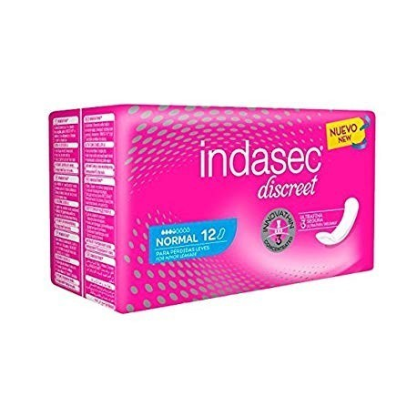 Indasec Incontinence Normal Female pads 12 Units