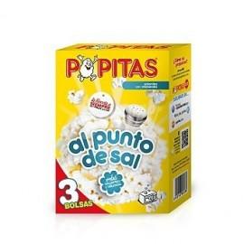 Borges Popcorn Microwaves 100 Grs Pk 3