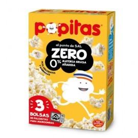 Borges Popitas Microwaves Popcorn Zero 100 Grs P