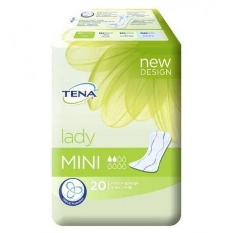 Tena Adults Incontinence pads Mini 20 Units