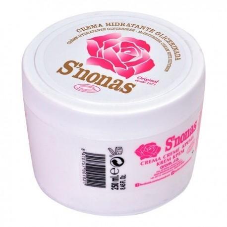 Crema De Manos S'nonas Caja 250 Grs