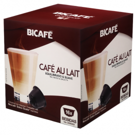 Café BiCafé 16 Capsulas (compatible Dolce Gusto) Café Leche