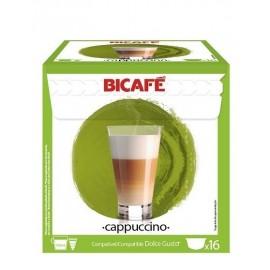 Café BiCafé 16 Capsulas (compatible Dolce Gusto) Capuchino