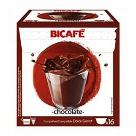 Café BiCafé 16 Capsulas (compatible Dolce Gusto) Chocolate