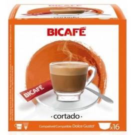 Café BiCafé 16 Capsulas (compatible Dolce Gusto) Cortado