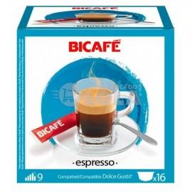Café BiCafé 16 Capsulas (compatible Dolce Gusto) Expreso