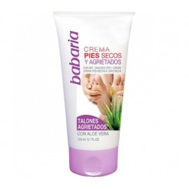 Cream Pies cracked heels Babaria 150ml