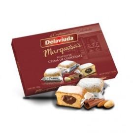 Delaviuda Marquesas Chocolate 300 Grs 12 Unidades