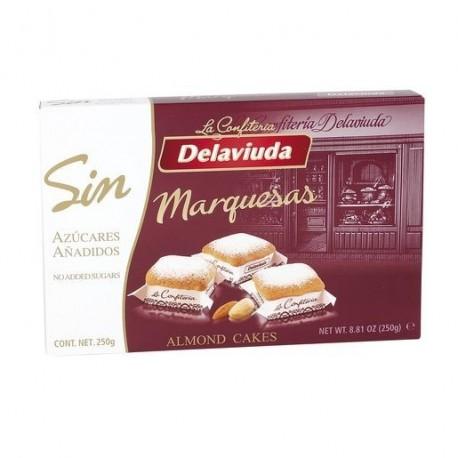 Delaviuda Marquesas Sin azucar 250 Grs